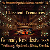 Classical Treasures: Gennady Rozhdestvensky - Tchaikovsky, Myaskovsky, Rimsky-Korsakov by Various Artists