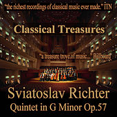 Play & Download Classical Treasures: Sviatoslav Richter - Quintet in G Minor, Op.57 by Various Artists | Napster