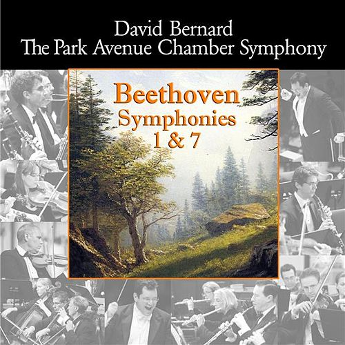Play & Download Beethoven: Symphonies Nos. 1 & 7 by Park Avenue Chamber Symphony | Napster