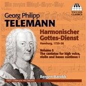 Telemann: Harmonischer Gottes-Dienst, Vol. 5 by Bergen Baroque