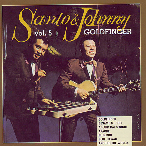 Play & Download Goldfinger by Santo and Johnny | Napster