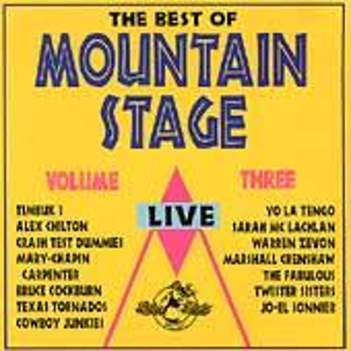 The Best Of Mountain Stage Live, Vol. 3 by Various Artists
