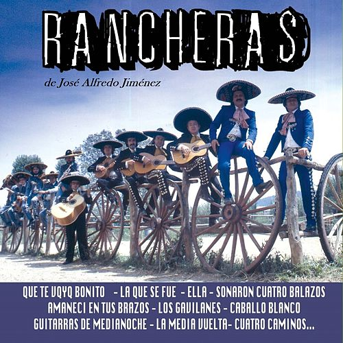 Play & Download Rancheras de José Alfredo Jiménez by Various Artists | Napster