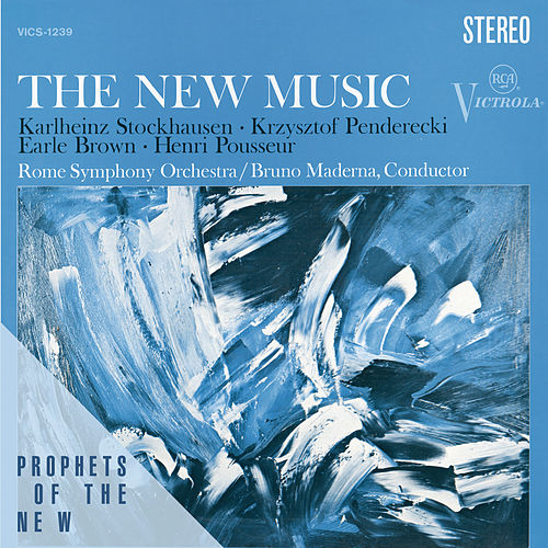 Play & Download The New Music - Penderecki, Stockhausen, Brown, Posseur by Members of The Rome Symphony Orchestra | Napster