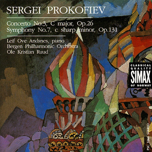 Play & Download Prokofjev:Piano Concerto No.3; Symphony No.7 by Leif Ove Andsnes | Napster