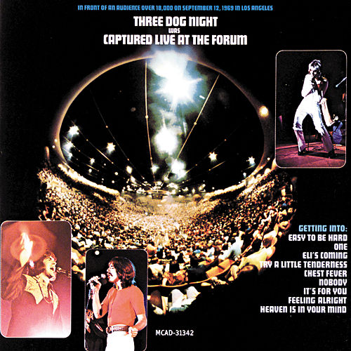 Play & Download Captured Live At The Forum by Three Dog Night | Napster