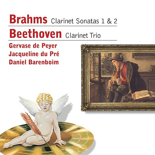 Play & Download Brahms: Clarinet Sonatas . Beethoven: Clarinet Trio by Jacqueline du Pre | Napster
