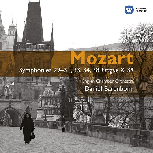 Mozart: Symphonies 29,31,33,34,38,39 by English Chamber Orchestra