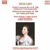 Violin Concerto No. 4/ Sinfonia Concertante by Wolfgang Amadeus Mozart