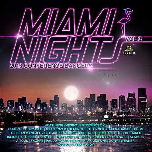 Play & Download Miami Nights Vol 3 - 2013 Conference Bangers by Various Artists | Napster