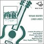 Texas Blues 1927-1937 by Various Artists
