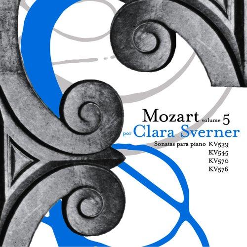 Wolfgang Amadeus Mozart: The Piano Sonatas, Vol. 5 de Clara Sverner