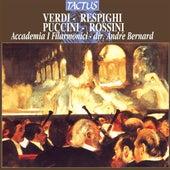 Play & Download Verdi - Respighi - Puccini & Rossini: Opere per Orchestra by The Accademia I Filarmonici | Napster