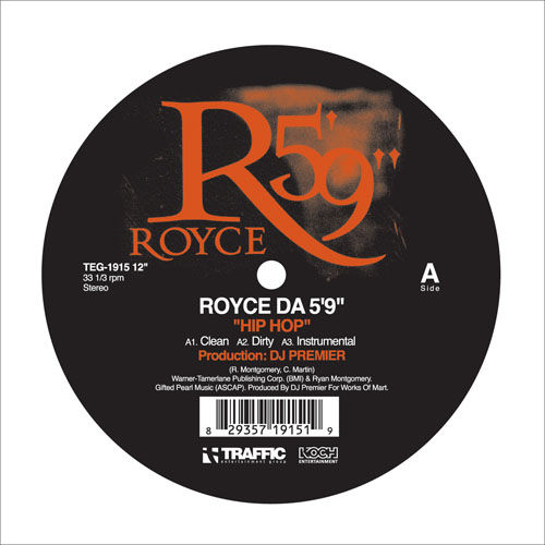 Play & Download Hip-Hop 12' by Royce Da 5'9 | Napster