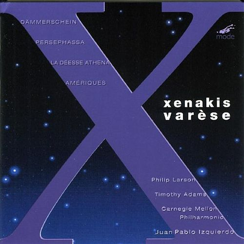 Xenakis:  Dammerschein; Persephassa; La Deesse Athena For Baritone, Percussion & Chamber Ensemble by Iannis Xenakis