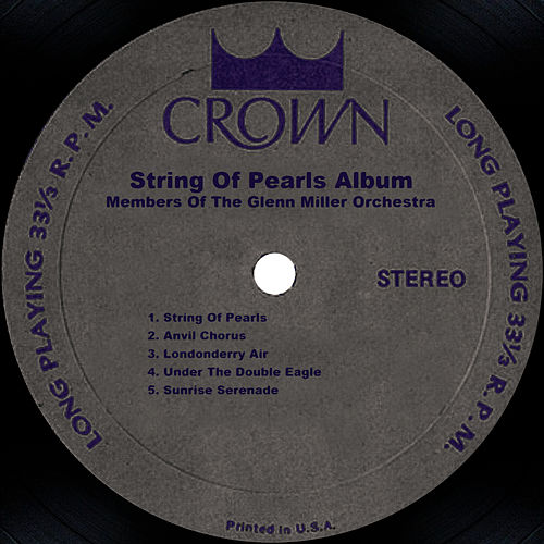 Play & Download String Of Pearls Album by Glenn Miller | Napster