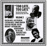 Too Late, Too Late Vol. 7 (1927-1935) by Various Artists