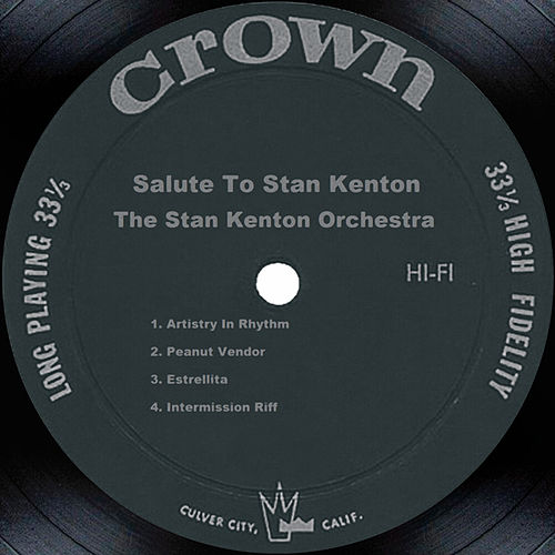 Salute To Stan Kenton by Stan Kenton