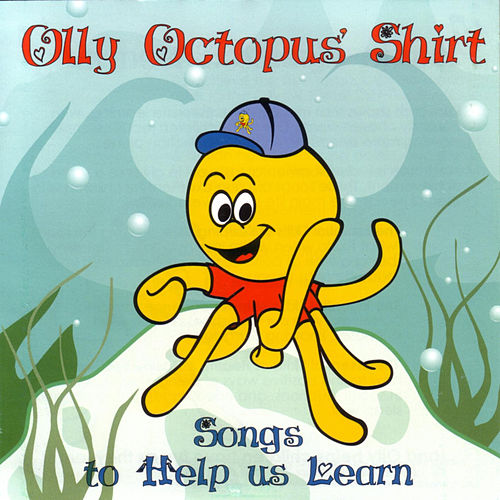 Olly Octopus' Shirt by Radha & The Kiwi Kids