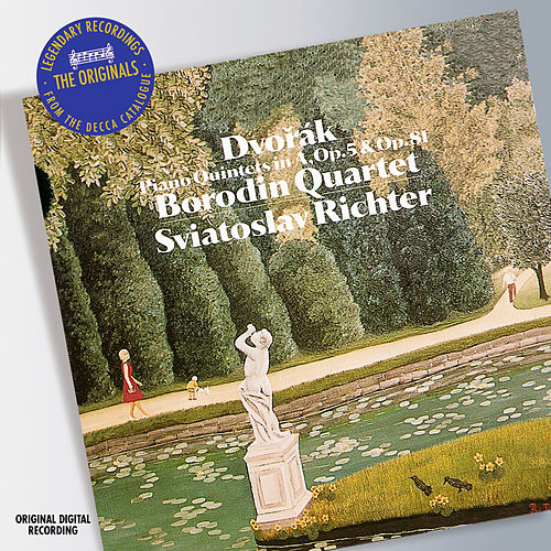 Play & Download Dvorak: Piano Quintets Nos.1 & 2 by Sviatoslav Richter | Napster