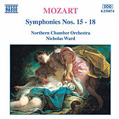 Symphonies Nos. 15 - 18 by Wolfgang Amadeus Mozart