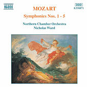 Symphonies Nos. 1 - 5 by Wolfgang Amadeus Mozart
