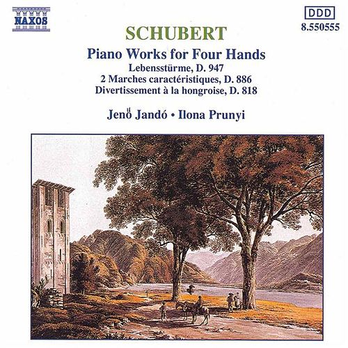 Piano Works for Four Hands by Franz Schubert