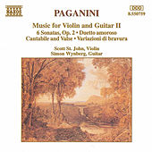 Play & Download Music for Violin and Guitar II by Nicolo Paganini | Napster