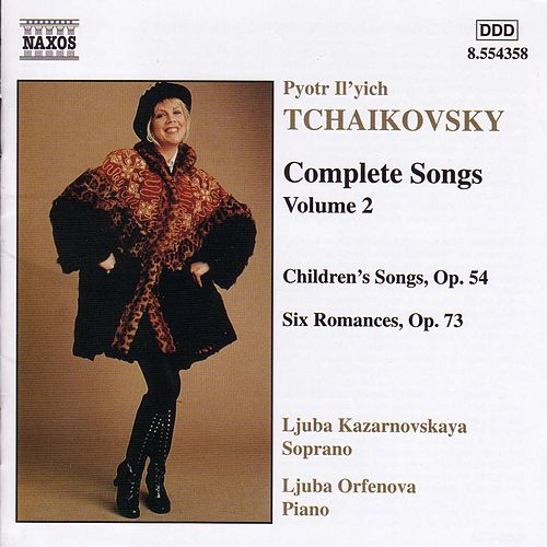 Complete Songs Vol. 2 by Pyotr Ilyich Tchaikovsky