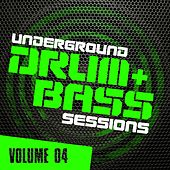 Underground Drum & Bass Sessions Vol. 4 - EP by Various Artists