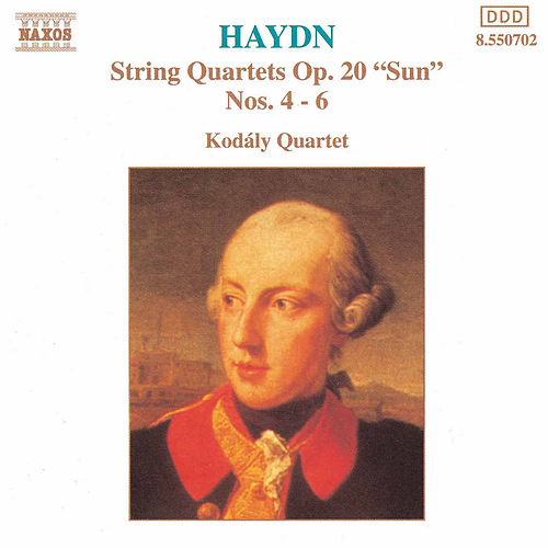 String Quartets Op. 20, Nos. 4 - 6 (unpublished) by Franz Joseph Haydn
