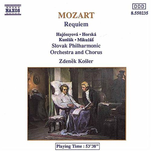 Requiem (unpublished) by Wolfgang Amadeus Mozart