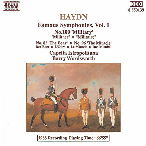Play & Download Symphonies Nos. 82, 96 & 100 by Franz Joseph Haydn | Napster