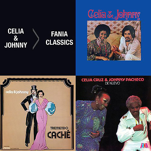 3 Albums 1 Price: Celia & Johnny/ Tremendo Cache/ De Nuevo by Celia Cruz