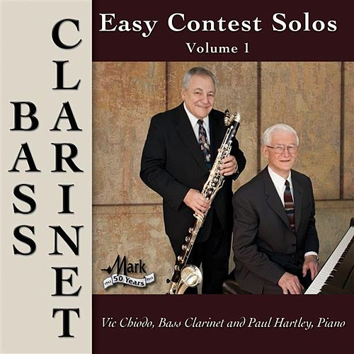 Easy Contest Solos, Vol. 1: Bass Clarinet by Vic Chiodo
