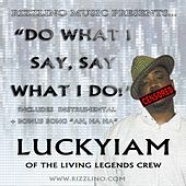 Play & Download Do What I Say, Say What I Do - Single by Luckyiam | Napster