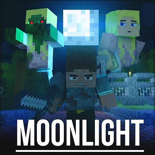 Play & Download Moonlight (A Minecraft Parody of Daylight) by Brad Knauber | Napster