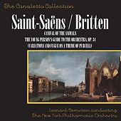 Saint-Saëns: Carnival Of The Animals / Britten: The Young Person's Guide To The Orchestra, Op. 34 (Variations And Fugue On A Theme Of Purcell) by New York Philharmonic