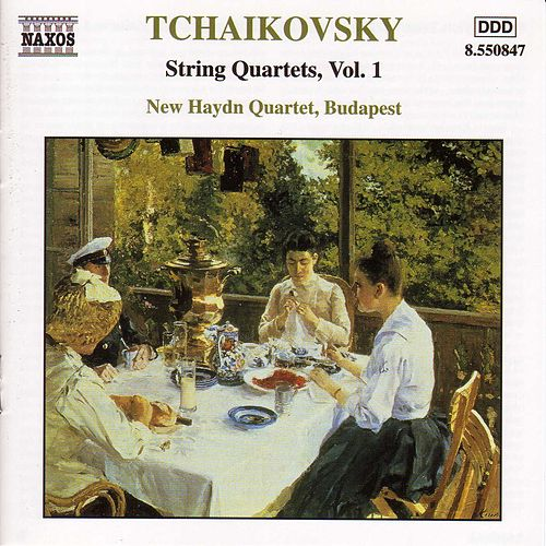 Play & Download String Quartets Vol. 1 by Pyotr Ilyich Tchaikovsky | Napster