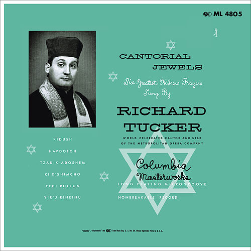 Play & Download Richard Tucker - Cantorial Jewels by Richard Tucker | Napster