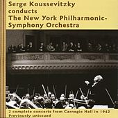 Serge Koussevitzky conducts The New York Philharmonic-Symphony Orchestra by New York Philharmonic