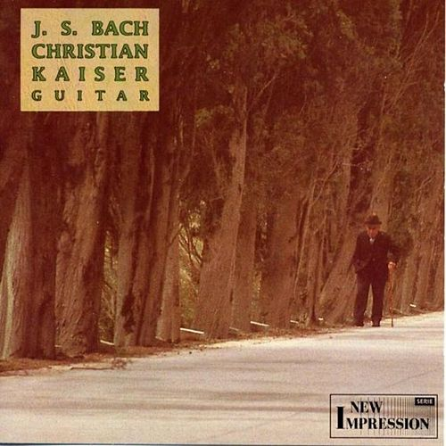 Plays Johann Sebastian Bach by Christian Kaiser