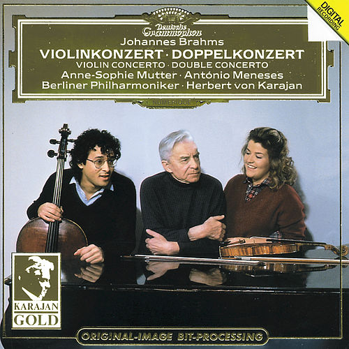Brahms: Violin Concerto; Double Concerto by Anne-Sophie Mutter