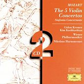 Mozart: The 5 Violin Concertos; Sinfonia Concertante by Gidon Kremer