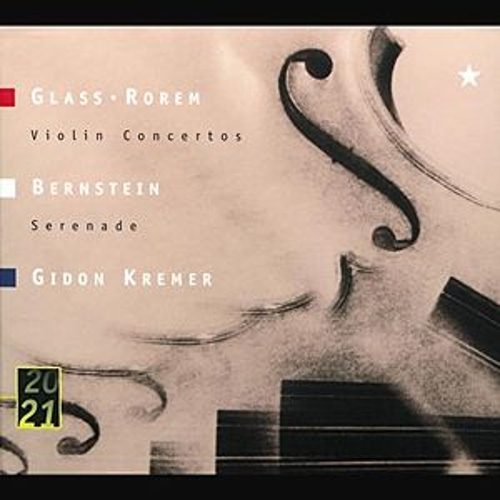 Glass / Rorem: Violin Concertos by Gidon Kremer