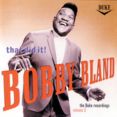 That Did It: The Duke...Vol. 3 by Bobby Blue Bland