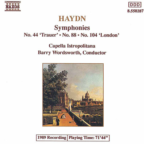 Play & Download Symphonies Nos. 44, 88 & 104 by Franz Joseph Haydn | Napster