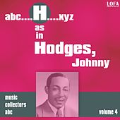 H as in HODGES, Johnny (Volume 4) by Various Artists