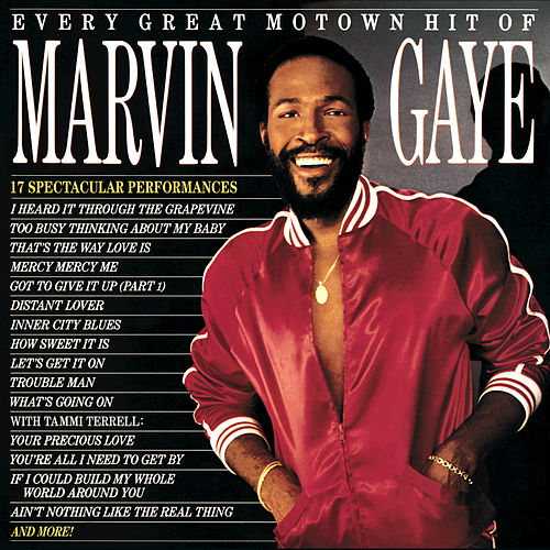 Every Great Motown Hit by Marvin Gaye
