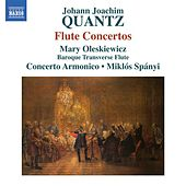 Play & Download Quantz: Flute Concertos by Mary Oleskiewicz | Napster